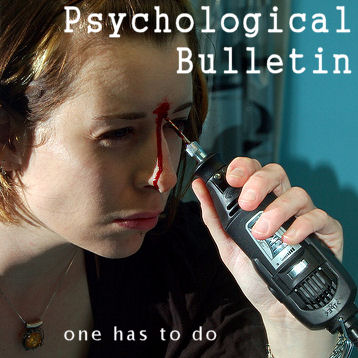 [Psychological Bulletin: one has to do]