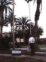 [Me in Florida for the 2000 election]