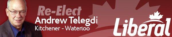 Re-elect Andrew Telegdi